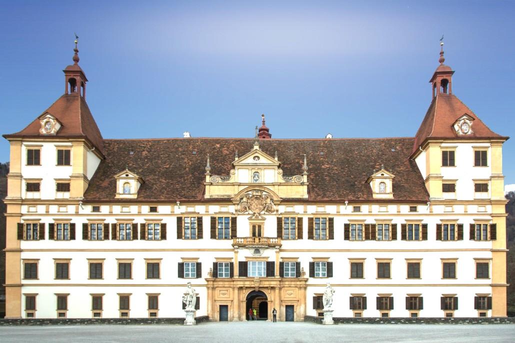 Schloss Eggenberg - Ansicht Haupteingang