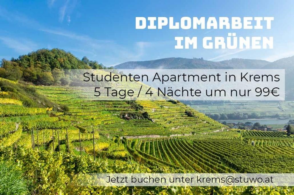 stuwo-studentenheim-krems-aktion-5-tage-4-nächte-für-nur-99-euro