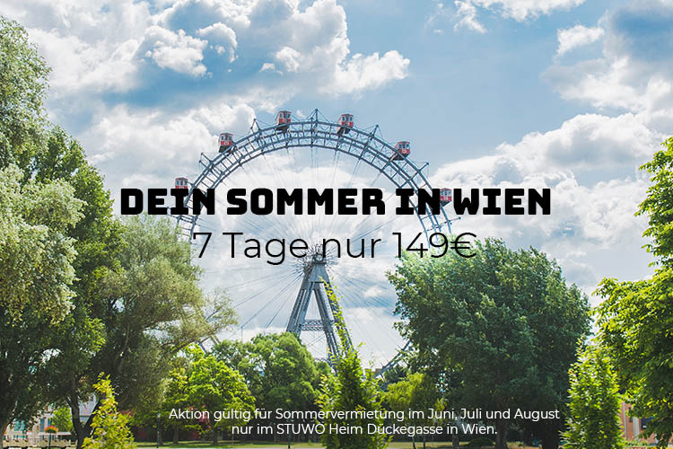 Sommer Aktion STUWO Dückegasse
